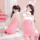 情趣用品 角色扮演 Cosplay 頑皮女郎!甜美兔女郎五件組﹝粉﹞