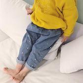 男童休閒褲 韓版春季新款兒童休閒蘿卜褲牛仔褲寶寶全棉潮哈倫褲男童女童褲子  寶貝計畫