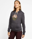 Hurley  W HRLY TRINSIC PERFECT FLC PO OIL GREY HTHR  帽T-(女)