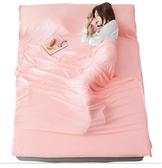莫代爾旅行住酒店隔臟睡袋大人便攜式床單雙出差旅游賓館被套純棉
