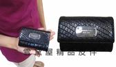雪黛屋MICHAEL KORS 國際品牌男女 中性零錢證件鑰匙暗釦蓋式主袋 防水防刮皮革35S5SJSP2N