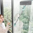 噴水高樓擦玻璃神器雙面擦外窗可伸縮擦窗戶...