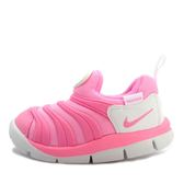 Nike Dynamo Free TD [343938-625] 小童鞋 慢跑 運動 休閒 舒適 透氣 粉紅 白