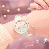 兒童錶 手錶女孩防水初中生小學生中學萌萌可愛軟妹女生女款韓版簡約 4色
