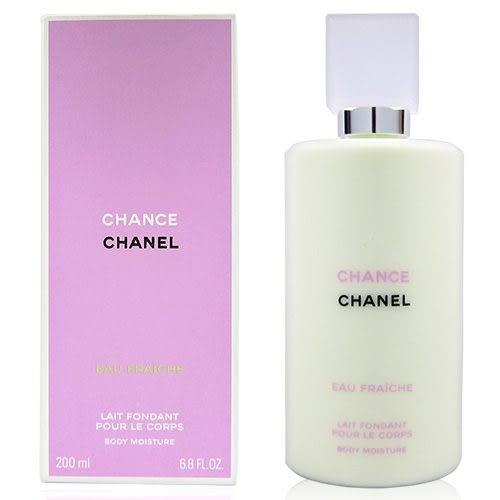 【福利品】CHANEL 香奈兒 CHANCE 綠色氣息 身體乳液 200ml,商品外和運送過程壓到,內容物100%完整