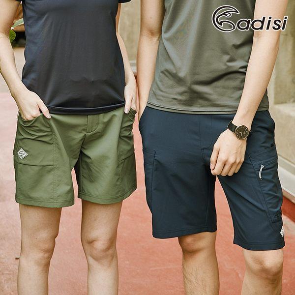ADISI 女COOL鈦抗UV透氣撥水休閒抽腰短褲AP1911009 (S-2XL) / 城市綠洲 (UPF50+、防潑水、防曬、降溫)
