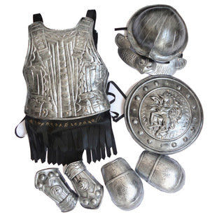 萬聖節 服裝龍騎士裝備 鎧甲勇士7件套411g