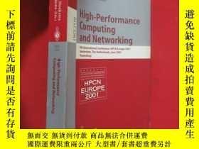 二手書博民逛書店High-Performance罕見Computing and Networking: 9th (小16開 ) 【