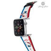 三麗鷗系列 Apple Watch 皮革錶帶 HELLO KITTY (銀)