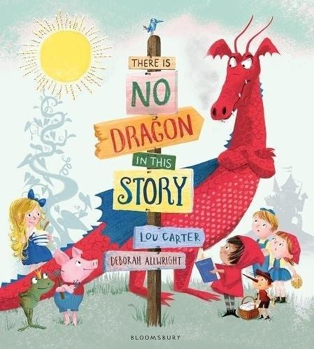【麥克書店】THERE IS NO DRAGON IN THIS STORY /平裝繪本《主題:幽默.自我認同》