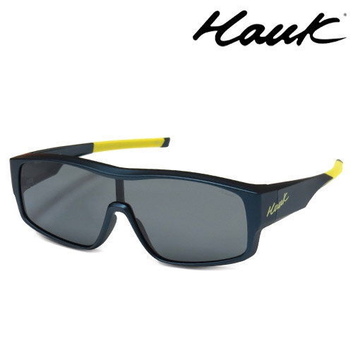 HAWK全片式運動風2用偏光太陽眼鏡 偏光套鏡(眼鏡族專用)HK1020-87