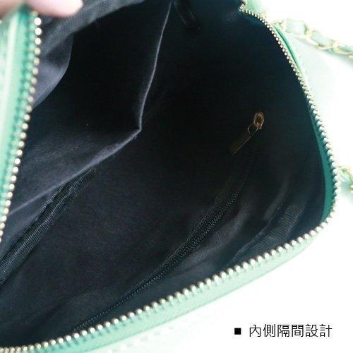 Catsbag 氣質流蘇金鍊皮革小包斜背包 245310926