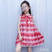 兒童洋裝 女童洋裝夏裝新款超洋氣裙子韓版兒童雪紡裙小女孩公主裙  新年下殺