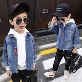 牛仔外套 童裝男童牛仔外套新款寶寶兒童夾克小男孩洋氣韓版潮衣 童趣潮品