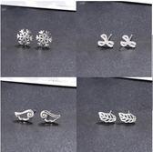 新年鉅惠純銀防過敏冷淡風耳環超仙簡約個性氣質創意耳釘女耳飾品