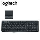 【Logitech 羅技】K375S 無線鍵盤支架組合 【限量送束口收納袋】