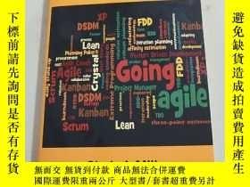 二手書博民逛書店Going罕見Agile Project Management PracticesY407940
