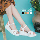 [Here Shoes]涼拖鞋-韓版高質...