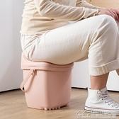可坐人收納凳多功能塑料凳儲物凳 家用換鞋凳子加厚收納箱儲物箱 【雙十一狂歡】
