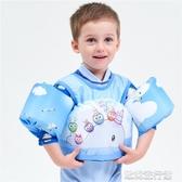 【快出】兒童泳圈 嬰幼兒兒童寶寶游泳裝備浮力手臂圈浮圈水袖泳圈學游泳背心救生衣