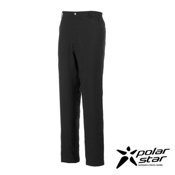 PolarStar 男 排汗快乾紳士褲『黑』P17305 西裝褲│休閒褲│吸濕排汗│直筒褲
