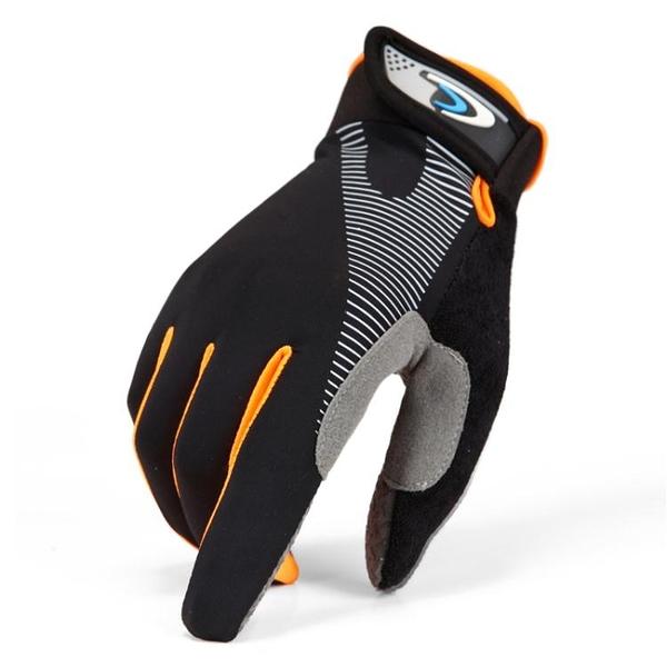 騎行手套全指運動登山防曬手套男女夏季薄款透氣戶外觸屏開車騎行防滑手套  聖誕節免運