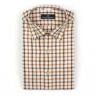 【南紡購物中心】【PIERRE BALMAIN 皮爾帕門】長袖襯衫-淺黃撞色格紋(F2)