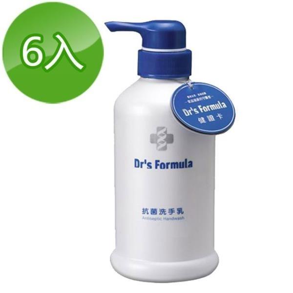 【南紡購物中心】《台塑生醫》Dr s Formula抗菌洗手乳400ml(6瓶)