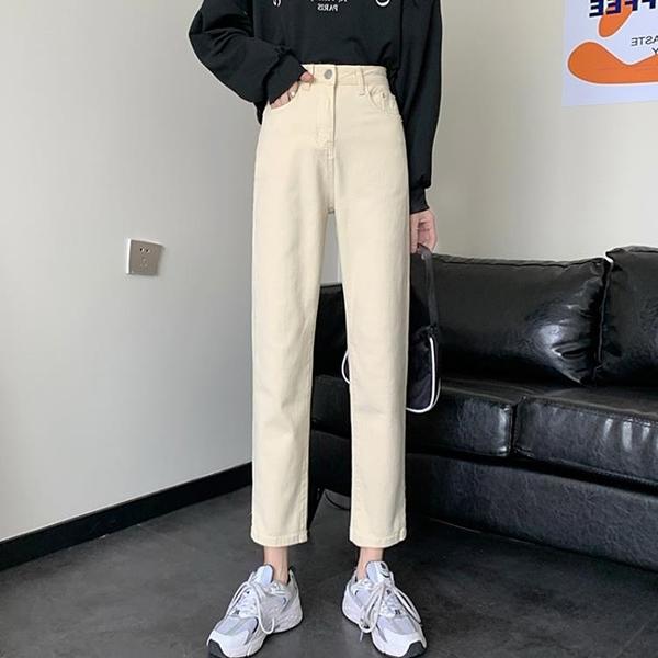 新品優惠 大碼女裝胖妹妹mm200斤可穿黑色牛仔褲女直筒寬松顯瘦韓版煙管褲