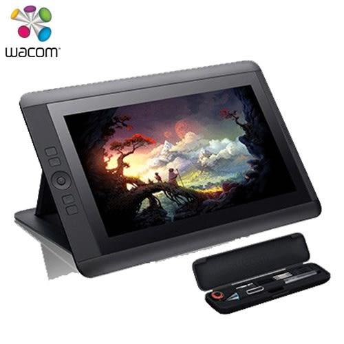 Wacom Cintiq13HD 13.3吋手寫專業液晶繪圖板 DTK-1301【送 收納筆袋及桌上螢幕架+上課劵】