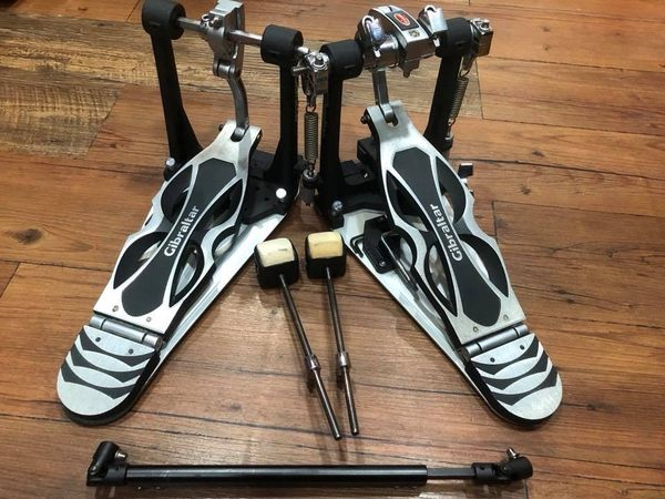 凱傑樂器 中古美品 Gibraltar 9611DC-DB 爵士鼓大鼓雙踏板 直驅式 附袋