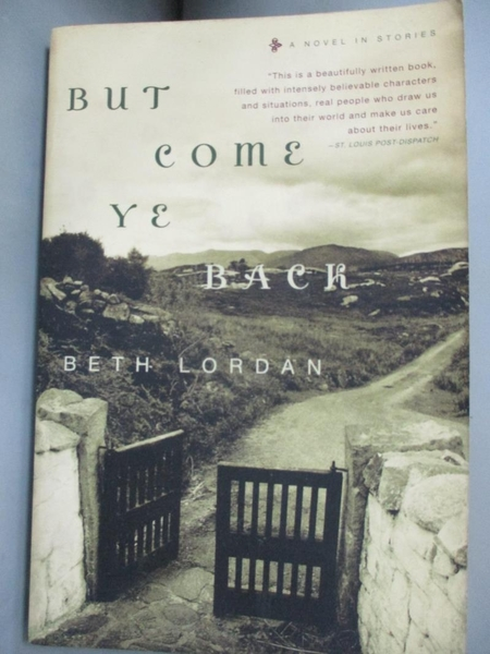 【書寶二手書T6/原文小說_CPU】But Come Ye Back: A Novel In Stories_Lordan, Beth