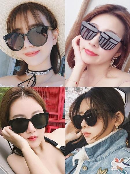 新款偏光太陽鏡女韓版潮圓臉墨鏡街拍眼鏡防紫外線Mandyc