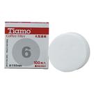 金時代書香咖啡 Tiamo 丸型濾紙6號 100入 直徑60mm HG3021