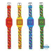 兒童錶兒童玩具手錶波點連體手錶 男女孩led 電子錶 中小學生時尚禮物錶 全館免運