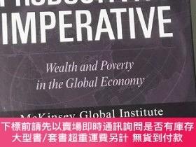 二手書博民逛書店The罕見Productivity Imperative: Wealth and Poverty in the G