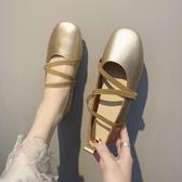 芭蕾鞋 晚晚風奶奶鞋新款春季溫柔平底仙女單鞋女淺口芭蕾單鞋 瑪麗蘇