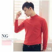 【大盤大】(N1-628) NG無法退換  鮮紅 M L 工作服 男 女 發熱衣 內搭 圓領 套頭 高領 輕刷毛