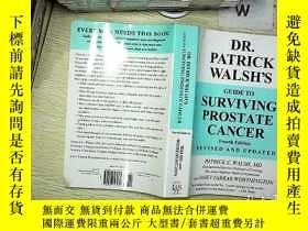 二手書博民逛書店DR罕見PATRICK WALSH S GUIDE TO SURVIVING PROSTATE CANCER 帕特