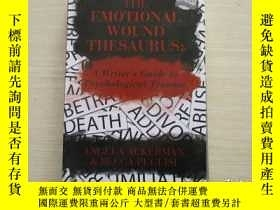 二手書博民逛書店THE罕見EMOTIONAL WOUND THESAURUS: