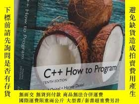 全新書博民逛書店C++How to Program , Global Editi