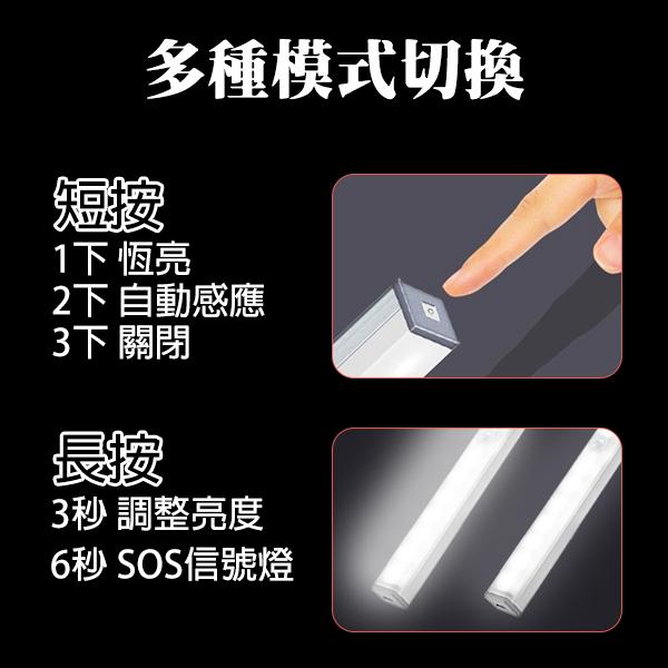 【刀鋒】BLADE多功能鋁合金感應燈 29.7cm 現貨 當天出貨 冷光系 台灣公司貨 燈條 充電式燈管