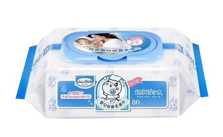 貝恩嬰兒Baan EDI 保養柔濕巾80抽3入 箱購24入