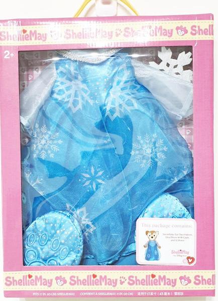 【現貨在台】冰雪奇緣 ELSA 艾莎【S號雪莉梅玩偶變裝衣服】盒裝 香港代購 正版迪士尼樂園