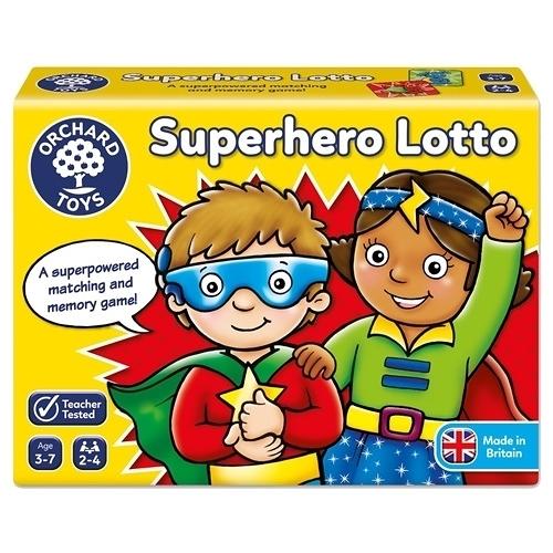 【英國Orchard Toys】桌遊-超級英雄配對遊戲