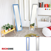 【RICHOME 】❤MR112❤《維多利亞時尚立鏡-2色》壁鏡/立鏡/桌上鏡/穿衣鏡/鏡子