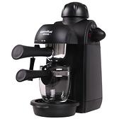 咖啡機 格米萊 CRM2008 家用咖啡機迷你全半自動意式現磨壺煮小型蒸汽式 優拓