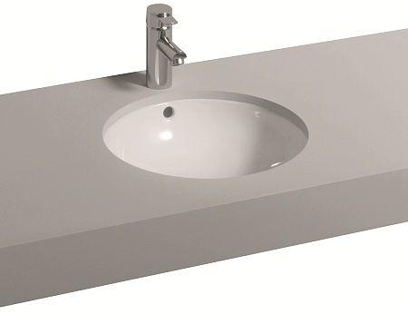 【麗室衛浴】德國 KERAMAG REFLEX系列 55 × 46.5cm 下坎臉盆 241755