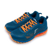 LIKA夢 GOODYEAR 緩震大氣墊運動鞋 光速之翼系列 藍橘 73156 男
