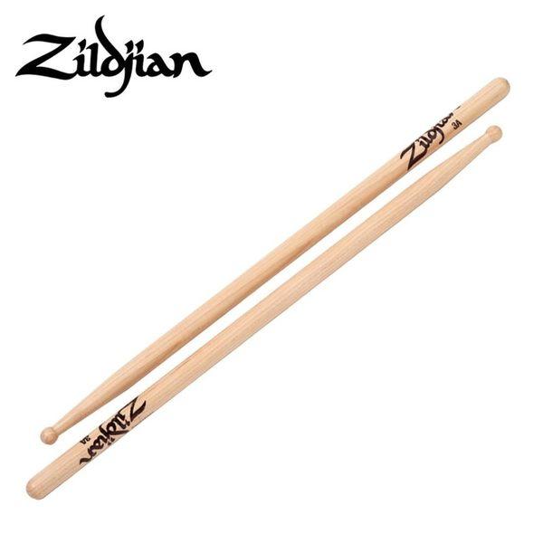 小叮噹的店-美國 Zildjian 3A (3AWN) 山胡桃木 鼓棒Hickory Sticks Wood Tip